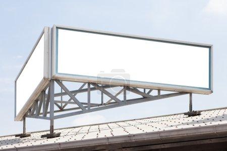 big billboard on building