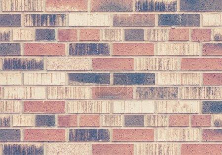 Vintage brick wall texture