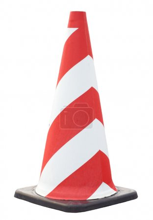 Cone pin of the red-white color