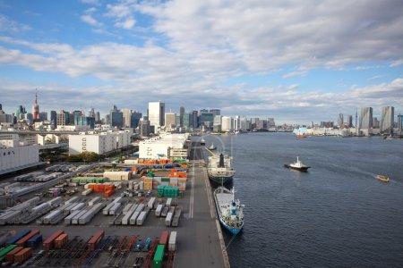 Cargo freight ships