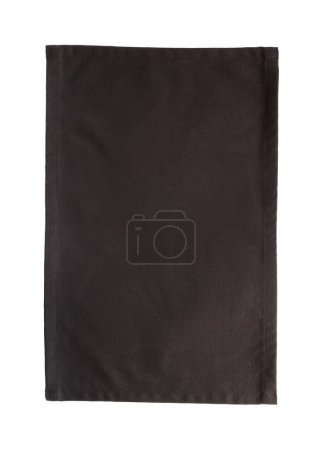 Black canvas tablecloth