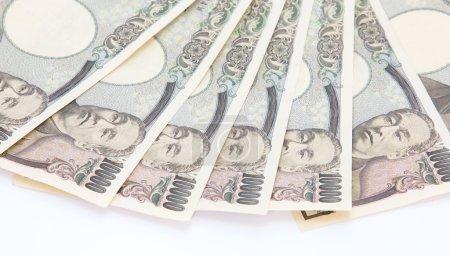 Japanese yen banknotes