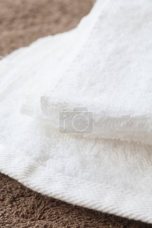 White clean towel
