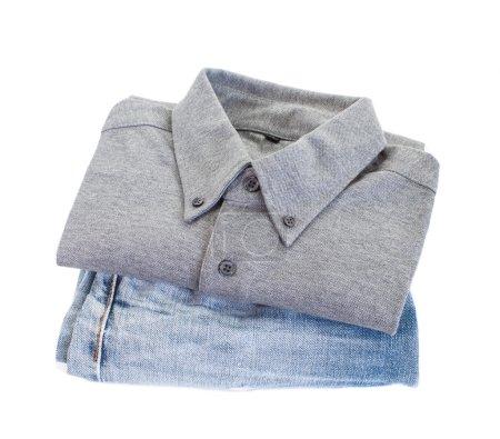 Grey cotton shirt