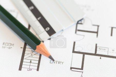 Architektenrollen und Pläne