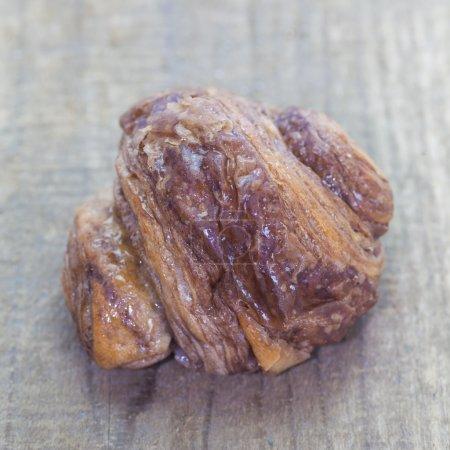 Mini chocolate croissant