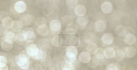 Foto de Resumen luces de Navidad, fondo bokeh círculos de fondo de Navidad - Imagen libre de derechos