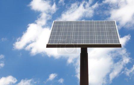 Street solar panel