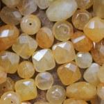 Amber stones...