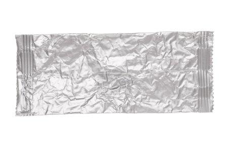 Crumpled aluminum bag