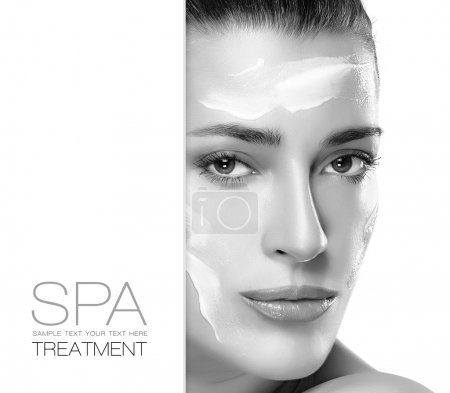 Spa Treatment and Beauty Concept. Template Design