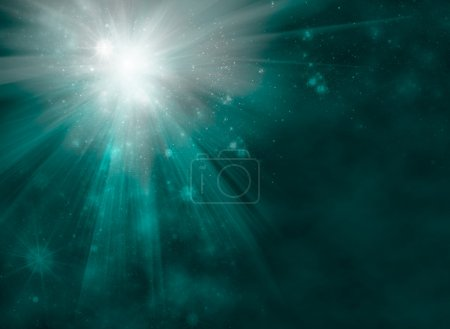 Bright Starburst. Festive Abstract Background