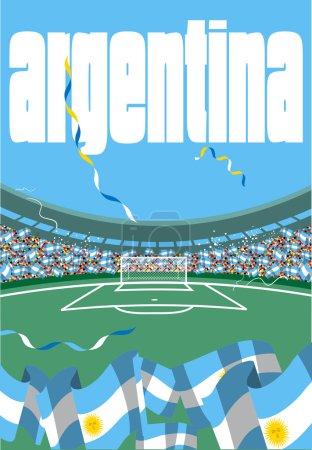 Argentina soccer stadium
