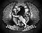 Lion Rampant Emblem
