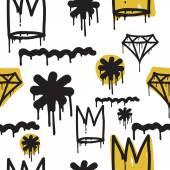 Graffiti nahtlose Muster