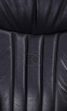 Leather texture of armchair