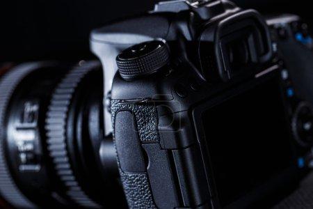 Photo pour Bouchent la vue de caméra Dslr - image libre de droit