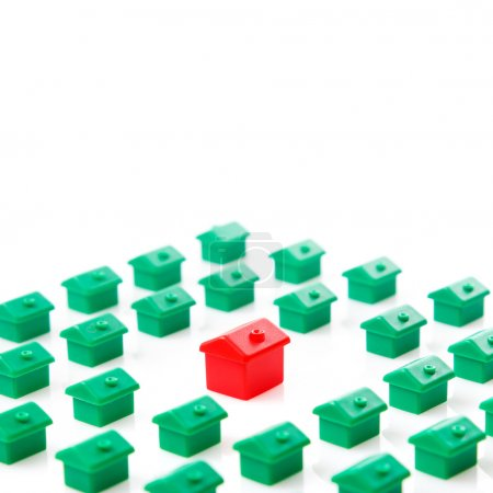 Small toy houses