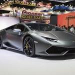 THAILAND - APRIL 4,2015: Lamborghini show, 36th Ba...