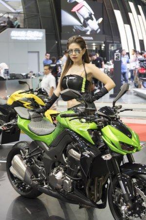 Выставка мотоциклов Кавасаки