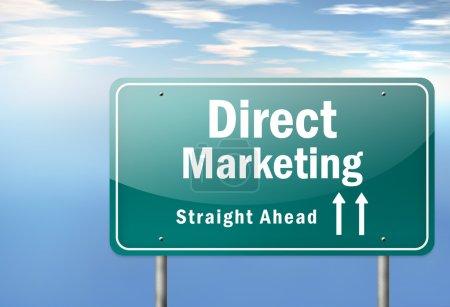 Signalisation routière Marketing direct