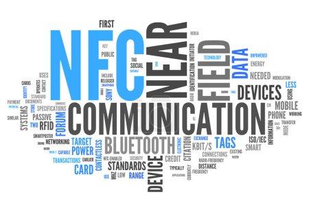 Word Cloud Near Field Communication