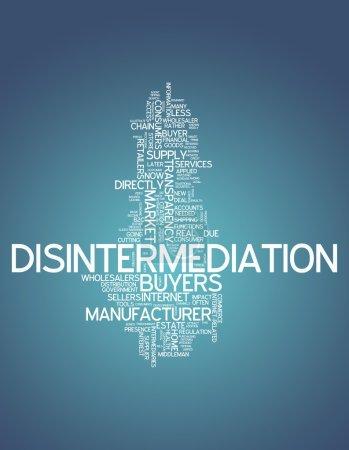 Word Cloud Disintermediation