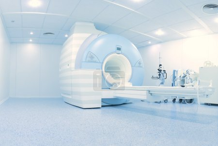 MRI laboratory with high technology contemporary equipment
