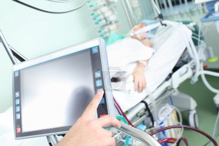 Control of modern medical device in hospital ward