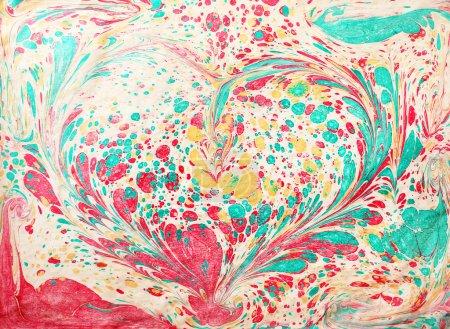 Hand drawn watercolor ornament