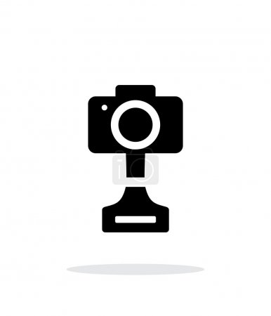 SLR photo award simple icon on white background.