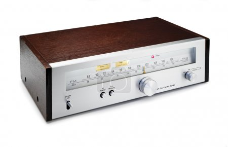 vintage stereo radio tuner