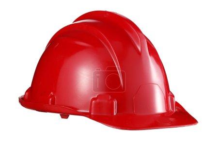 workman red helmet