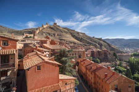 albarracin village, general view