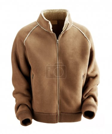 Brown jacket for man