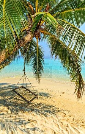 Beach hammock, Maldives