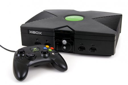 Microsoft XBOX Game Console and controller