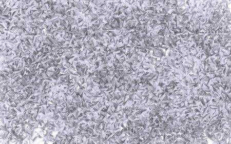 White leaves background