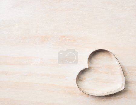 Heart biscuit cutter bake tool
