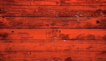 Red wooden background