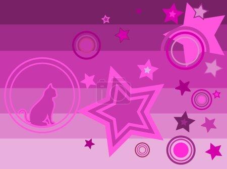 Illustration of a disco karaoke dance party