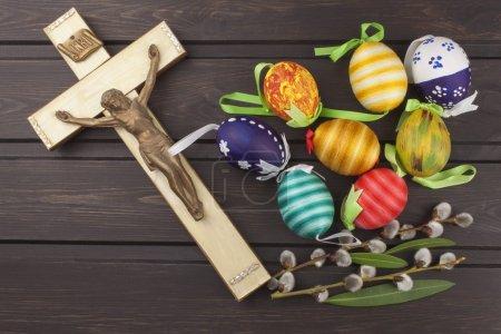 Eggs Christian Easter symbol Preparation