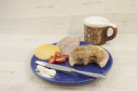 Breakfast diet, weight reduction, homemade food