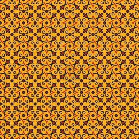 Oriental seamless pattern.