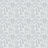 Photographic seamless pattern Vector background