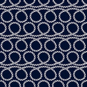 Nautical seamless pattern with rope.