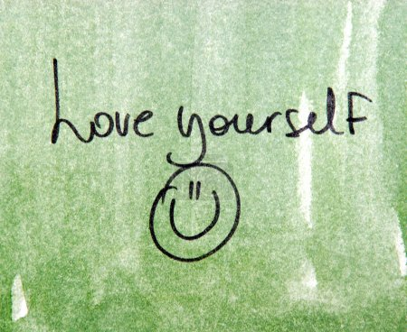 love yourself inspirational message