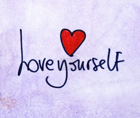 love yourself with heart