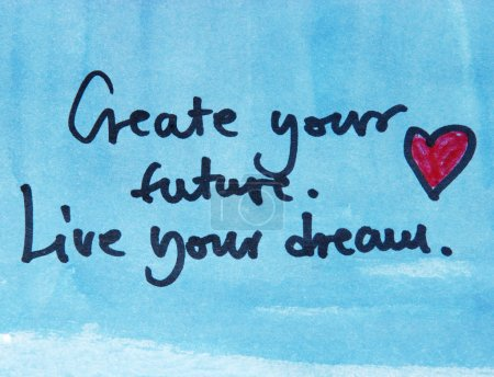Create your future message