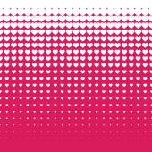 Seamless White hearts pattern background
